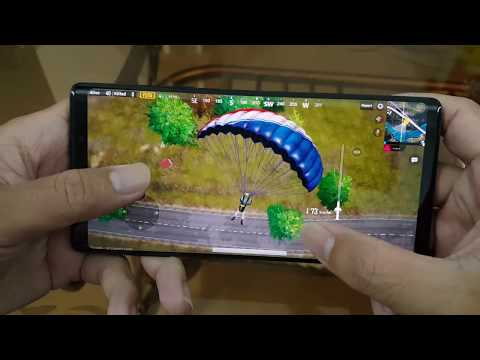 Test Game PUBG Mobile On Samsung Galaxy Note 9 Max Setting