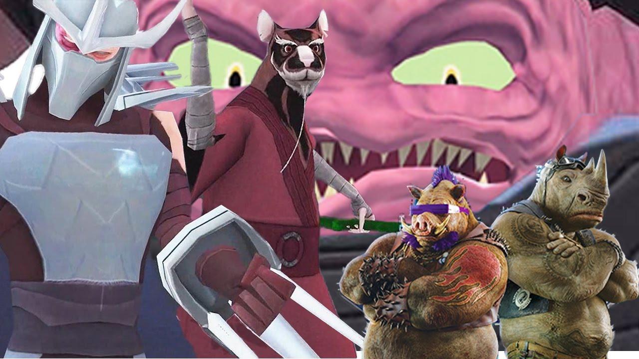 master shredder tmnt art