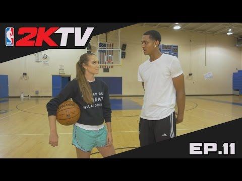 NBA 2KTV S2. Ep. 11 - Lakers' Jordan Clarkson's Private Shooting Workout