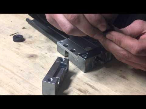 Verwendung Und Montage Kit Antriebssystem Drylin WS-1040 Trapezgewindespindel