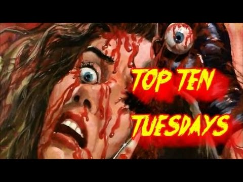 Top Ten Tuesdays Ep: 54- Sleaze Horror/Exploitation Flicks