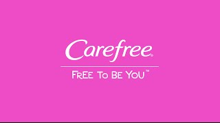 Carefree Canada Helps You Feel #FreeToBeYouToday