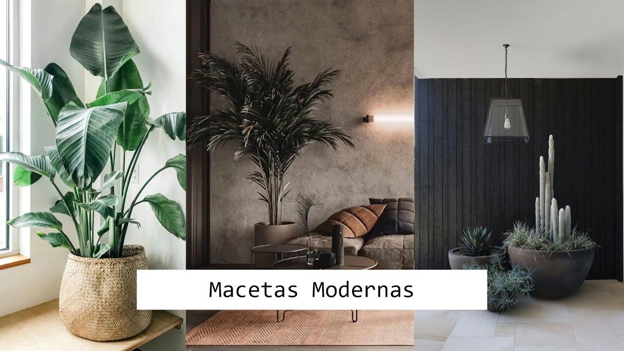 34 Ideas de MACETAS BONITAS y ELEGANTES para decorar   DECORACIÓN DESING