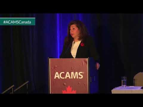 Nada Semaan - FINTRAC CEO - Keynote Speaker ACAMS AML & Financial Crime Conference
