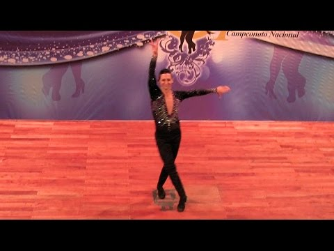 Argentina Salsa Open 2015 ~ Final Solistas Masculinos ~ Ricardo Torres ~ 1º