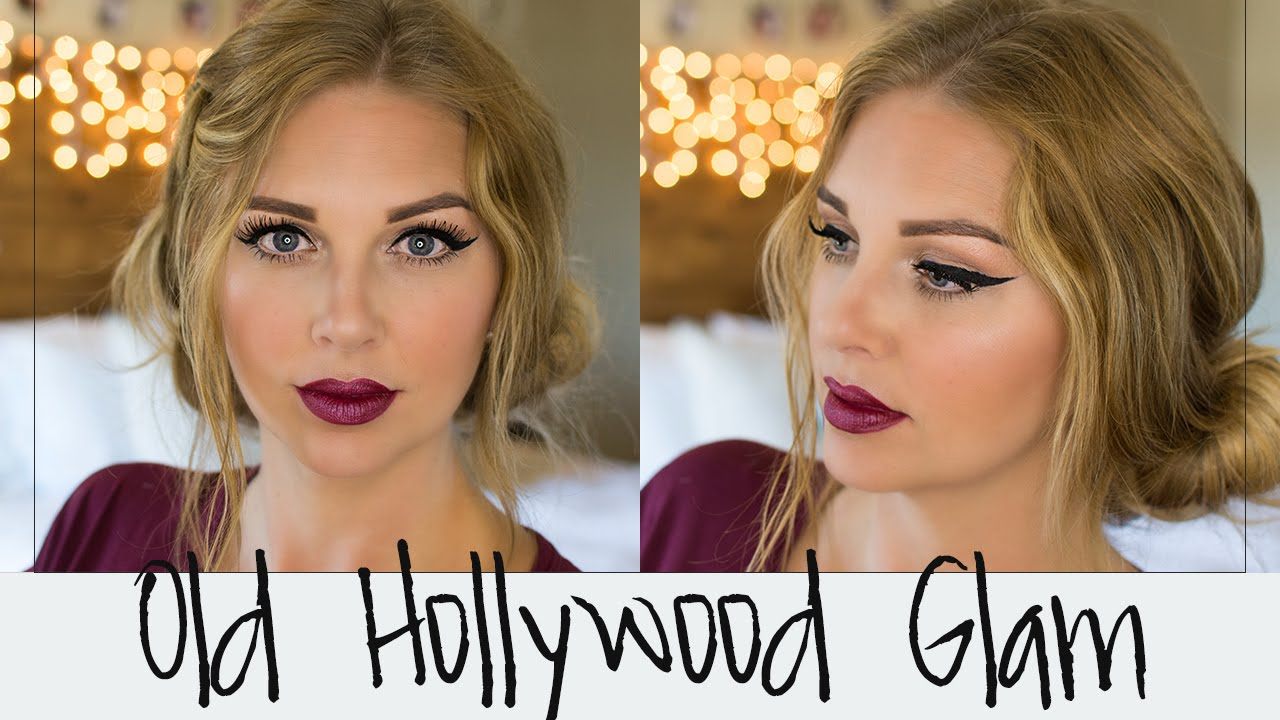 Makeup tutorial old hollywood glam youtube makeup tutorial old hollywood glam baditri Image collections
