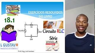 Circuito rlc serie exercicios resolvidos
