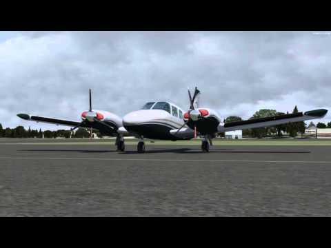 Prepar3D - Treinamento IFR NDB - SBRP para SBBU de Seneca (voo comentado)