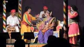 Yakshagana Peradoor Mela Ravindra Devadiga kamalashile & Mahabaleshwar Bhat Kyadige
