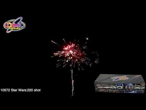 Cosmic Fireworks Star Wars 220 Shot Display Barrage Firework - £55 at Middleton Firework Shop