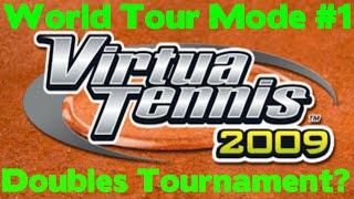 Virtua Tennis 2009 - World Tour #2 - Doubles Tournament?