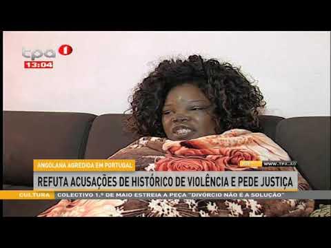 Angolana agredida em Portugal -  Constituída arguida por resistência à autoridade