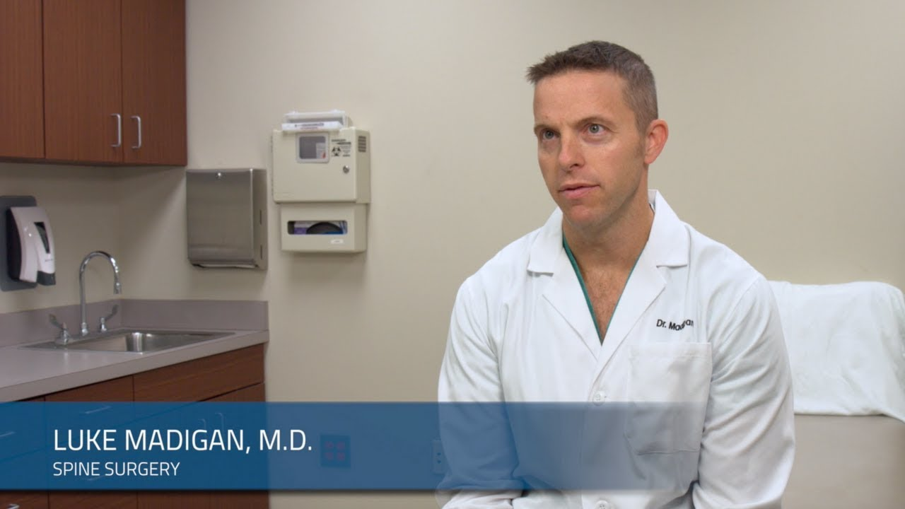 Luke Madigan, M D , Spine Surgeon Knoxville Orthopaedic Clinic