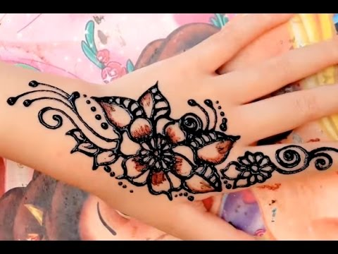 ᴴᴰ Best Cute Henna Art Mehndi Stylish Designs Step By Step Youtube