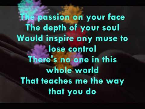 Undying Admiration - David Pomeranz (with lyrics)