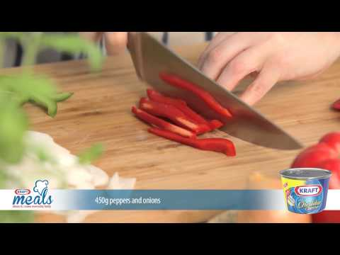 Kraft Cheddar Cheese and Bell Pepper Steak thumbnail