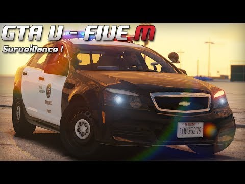 GTA 5 - Law Enforcement Live - Surveillance ! (Five M)