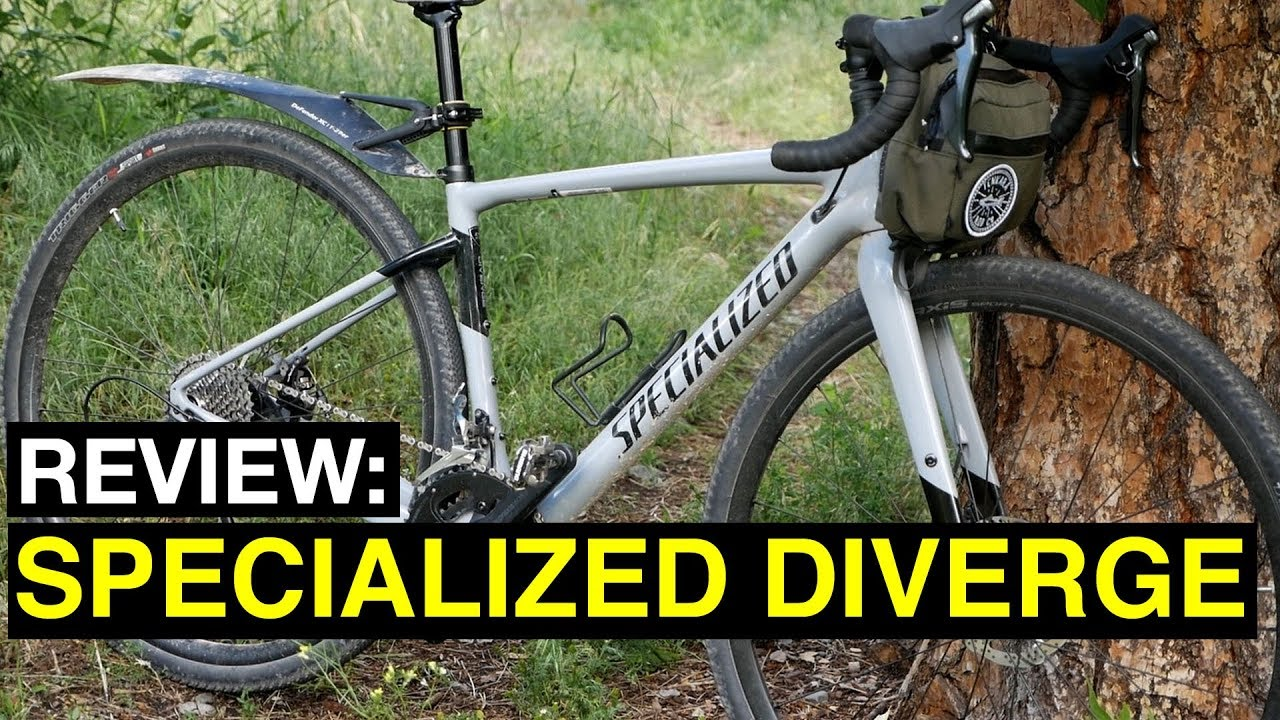 Review  2018 Specialized Diverge - YouTube 916971524cd92