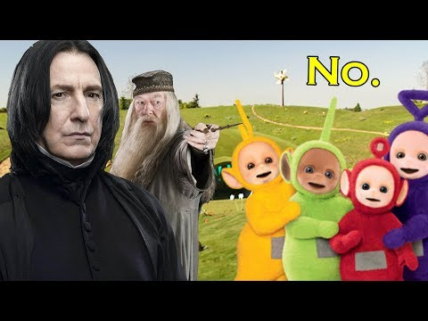 READING WEIRD FANFICTION - Snape Meets the Teletubbies