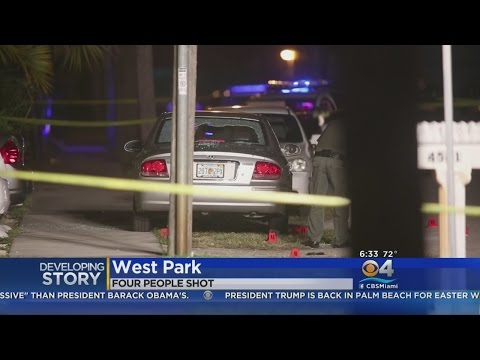Four Shot, Including Child, In West Park