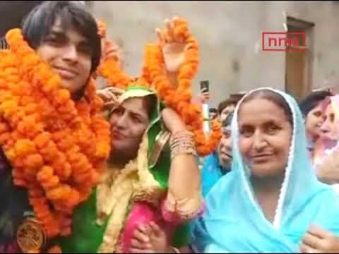 Neeraj Chopra Mother