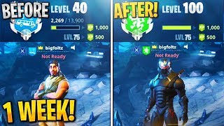 Get DOUBLE XP NOW in Fortnite! the ABSOLUTE FASTEST way to LEVEL UP! (Fortnite LEVEL UP FAST)