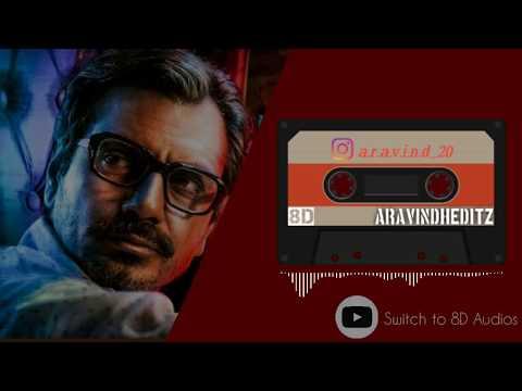 Singaar Singh Theme - Petta || 8D Audio || Nawazuddin Siddiqui|| Anirudh || Switch To 8d Audios