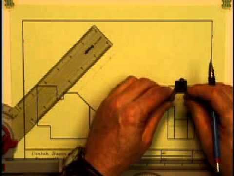 auxiliary views( engineer drawing)