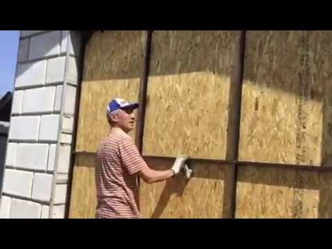 видео: Подъёмные ворота гаража.