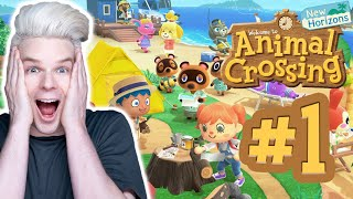 I HAVE NEVER PLAYED THIS BEFORE! - Animal Crossing New Horizons Part 1