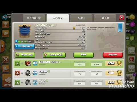 Clash of clan-how to start friendly war