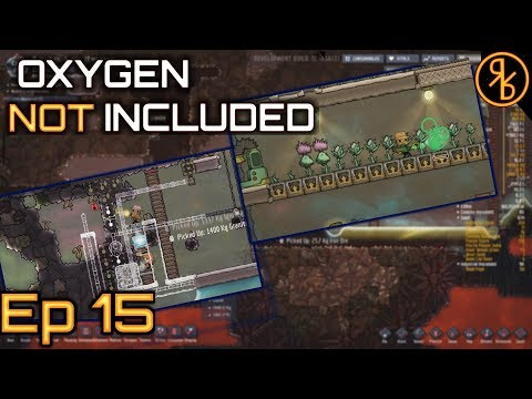 Oxygen Not Included Ep 15 | Berry Farm and Aqua Tuner | Occupational Upgrade