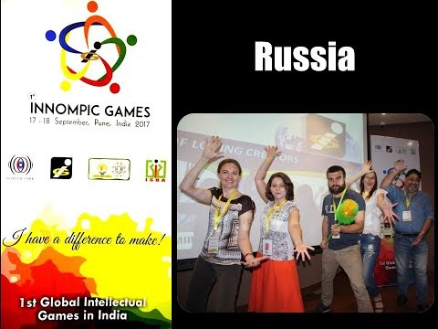 1st INNOMPIC GAMES: Russian innovation team Introduction video