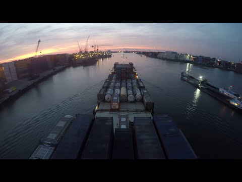 Chartco  Compass Adjustment   Container feeder outbound rotterdam