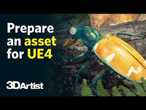 Unreal Engine 4 Tutorial: Prepare A Real-Time Asset With ZBrush