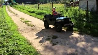 видео: Детский Виллис законченный проект...
