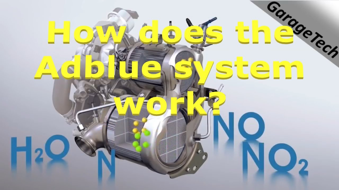 How does the Adblue SCR/DEF system work? Explained