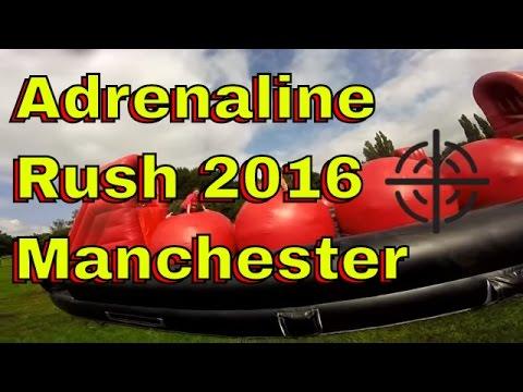 Adrenaline Rush Manchester 2016 - 10K