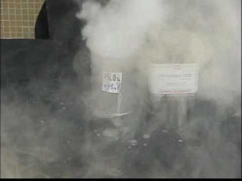馮Sir AFung 化學實驗(chemistry experiment) H2O2 + MnO2