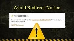 Avoiding Redirect Notice   Schoology Tutorial