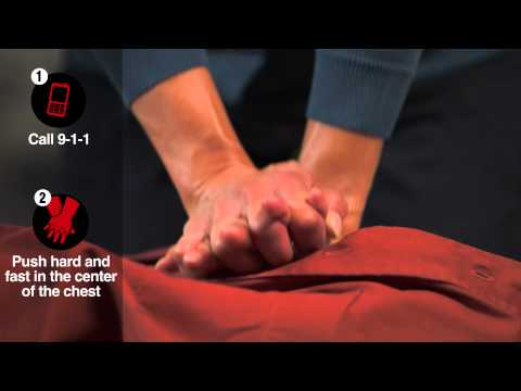 Hands-Only CPR Demo Video Amerigroup
