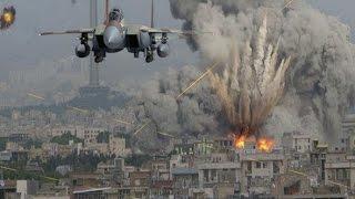 Видео бомбежки складов и бункеров ИГ, ВКС России бомбят ИГИЛ, новости Сирии сегодня