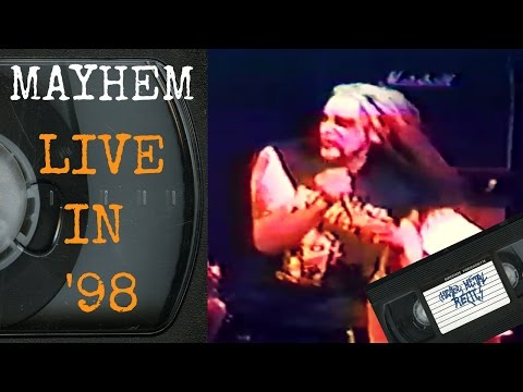 Mayhem Live 1998 FULL CONCERT
