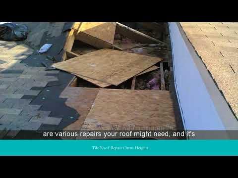 Tile Roof Repair Citrus Heights