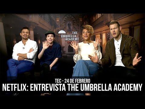 Netflix: Entrevista the Umbrella Academy Mp3