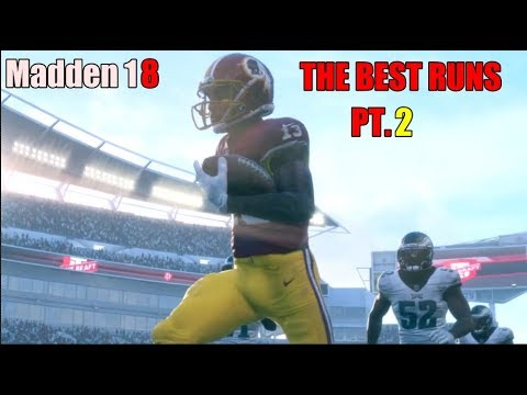 MADDEN 18 BEST RUNS COMPILATIONS PART 2(MY FAVORITE RUNS FROM COMMUNITY FOOTAGE)