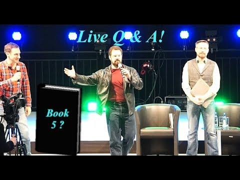 Christopher Paolini Q & A: Eragon Book 5 And Netflix Series?