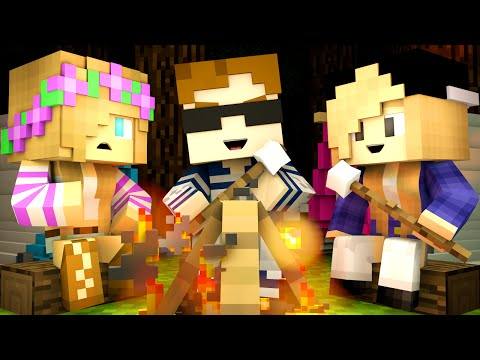 Minecraft Camp - MEETING GIRLS?!