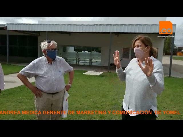 ANDREA MEDICA GERENTE DE MARKETING Y COMUNICACIÓN  DE YOMEL  0