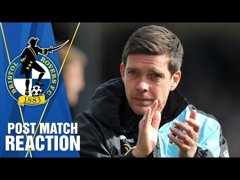 REACTION: Darrell post Exeter City